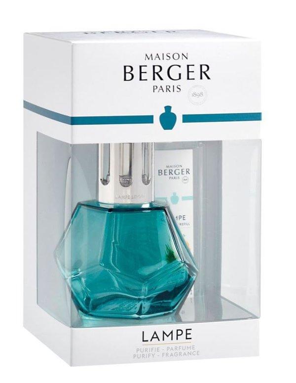 Lampe Berger Geometry Blau Frische Ozeanbrise Maison
